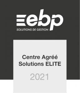 Logo EBP Centre Agréé Solutions Elite 2021